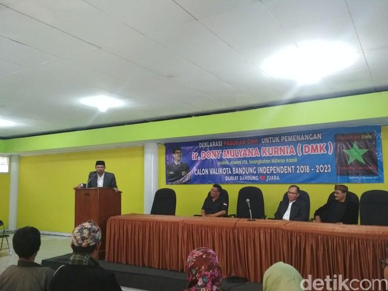Teman Kuliah Ridwan Kamil Nyalon Wali Kota Bandung Independen
