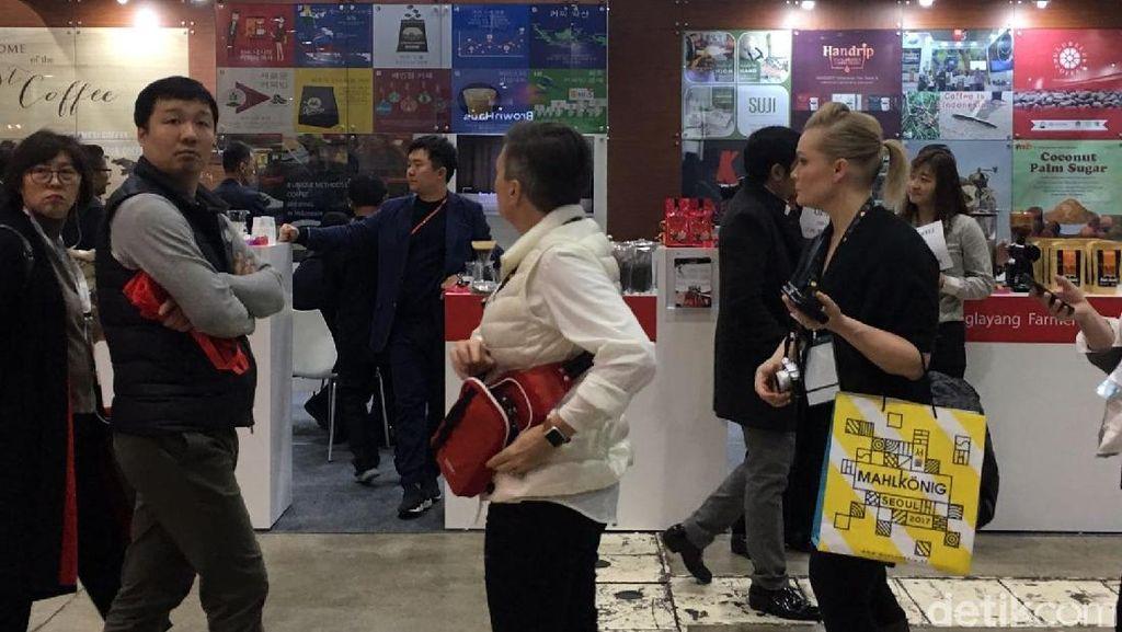Ketika Para Q-grader Korsel Mencicip Kopi Indonesia di Cafe Show 2017 Seoul