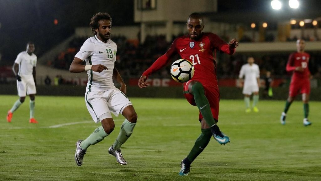 Tanpa Ronaldo, Portugal Kalahkan Arab Saudi 3-0