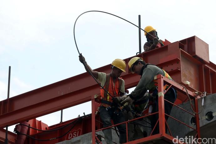 Pas! Pembangunan Flyover Pancoran Sesuai Target