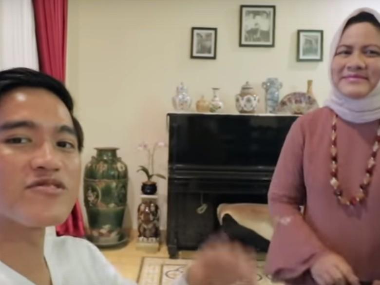Iriana Jokowi yang Kembali Nimbrung di Vlog Kaesang