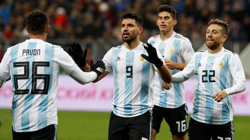 Aguero Tak Akan 100 Persen Fit di Piala Dunia 2018