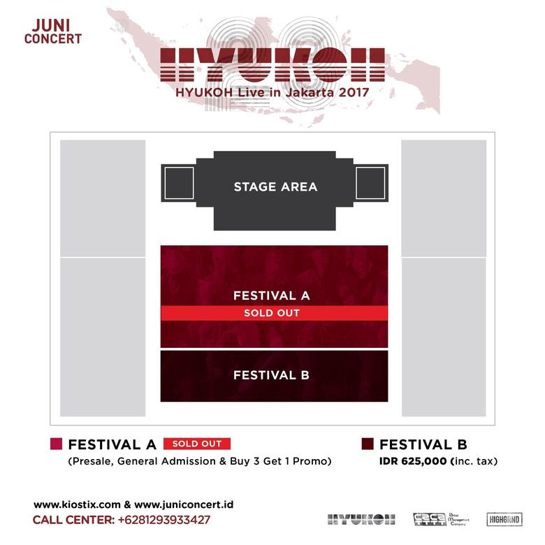 Hore! Kategori Tiket Konser Hyukoh di Jakarta Ditambah