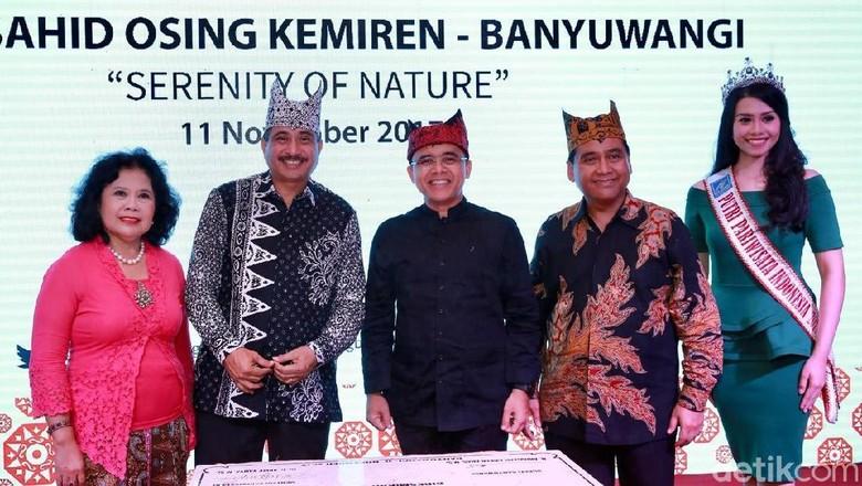 Menpar Arief Yahya dan Bupati Banyuwangi (Ardian Fanani/detikTravel)