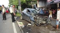 Pengemudi dalam Pengaruh Miras, Mobil Mengamuk di Jalanan Boyolali