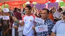 Sandiaga Hadiri Festival Jakarta Berbakat di Kampung Kebun Bayam
