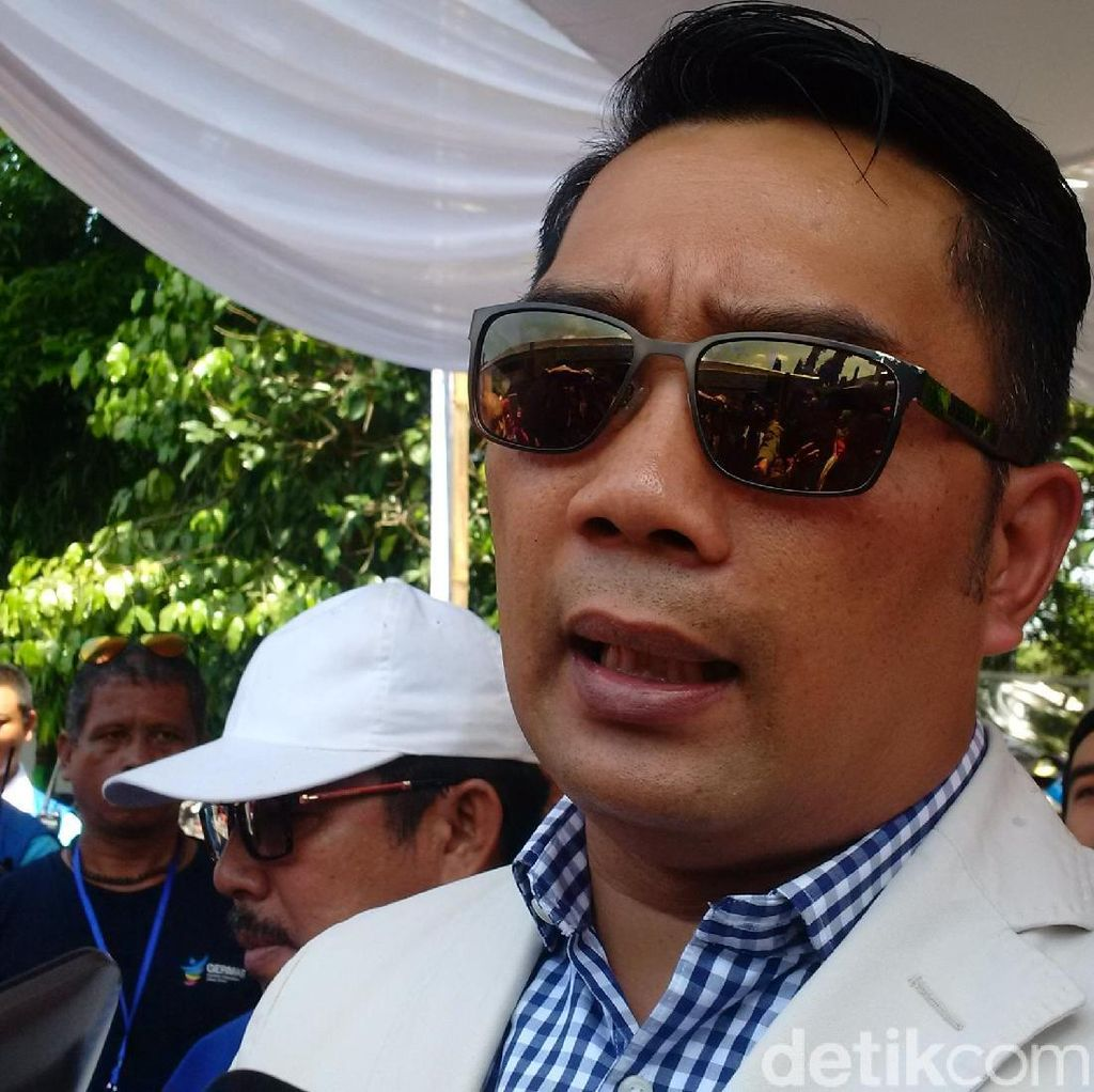 Ridwan Kamil Minta Calon Wakilnya Populerkan Diri