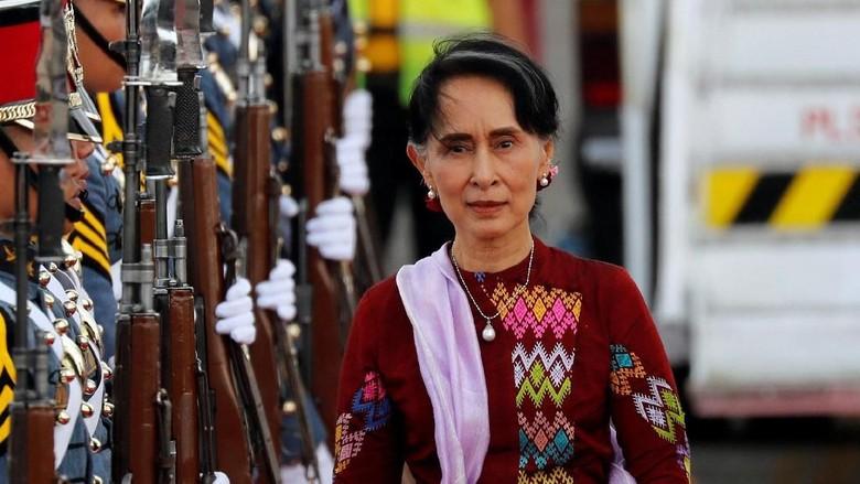 Sekjen PBB Desak Suu Kyi Izinkan Warga Rohingya Pulang ke Myanmar