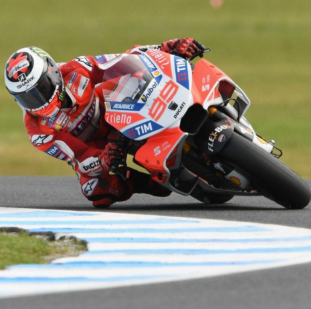 Ducati Puji Kerja Keras Lorenzo untuk Beradaptasi dengan Desmosedici