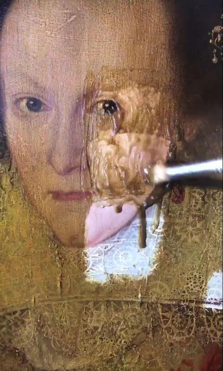 Ajaib, Lukisan dari Abad ke-17 Ini Berhasil Direstorasi Philip Mould