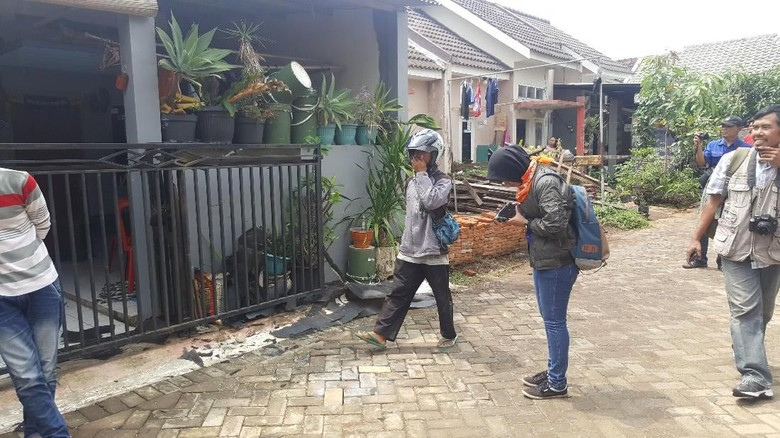 Polisi Dalami Rekaman CCTV Ledakan Bondet di Perum Karangploso