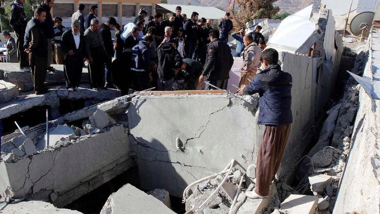 Korban Tewas Gempa Di Iran Bertambah Jadi  Orang