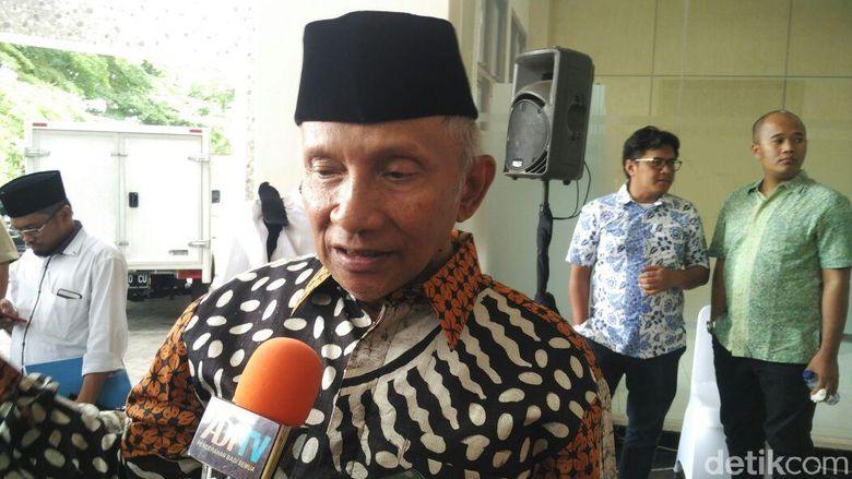 Amien Tepis Hoax Duet JR Saragih-Mumtaz Rais: Selamat Jalan, Cebong!