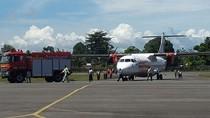 Pesawat Wings Air Tergelincir di Bandara Nabire