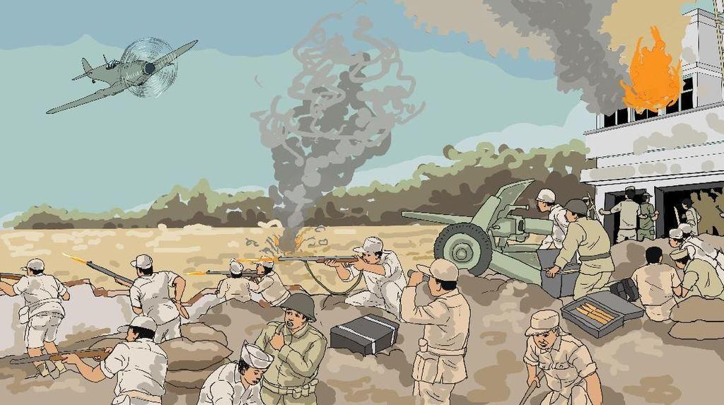 Dari Perang Surabaya ke Penjara