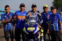Wahyu Aji Podium Jawara Race 2 Seri 5 Kejurnas