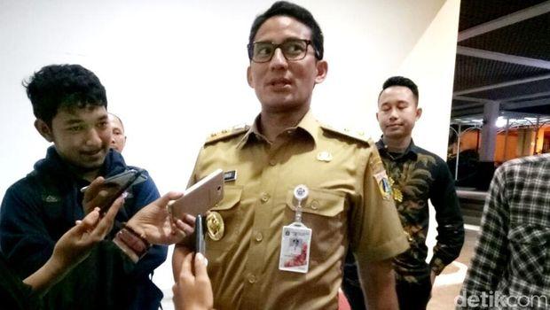 Image result for Wagub DKI Jakarta Sandiaga Uno (Mochammad Zhacky/detikcom)