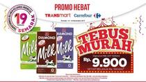 Bun, Ada Tebus Murah Susu Segar di Transmart dan Carrefour Lho!