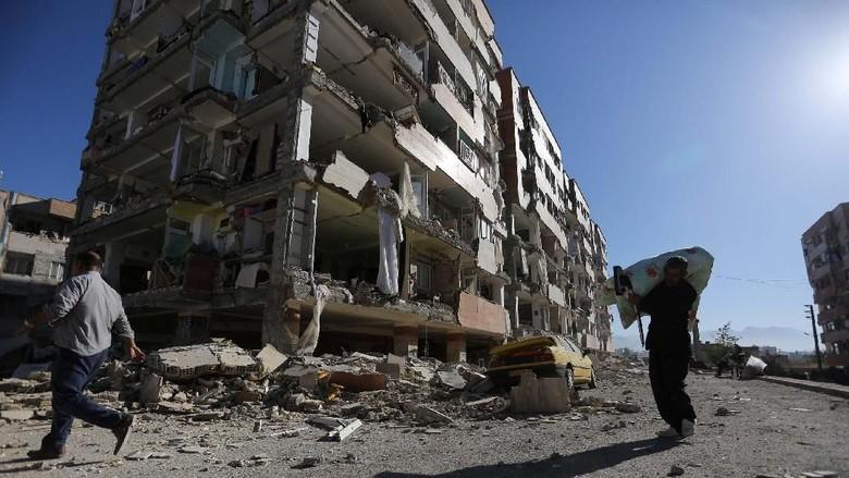 BMKG Pantau Gempa Dahsyat di Iran, Ini Analisisnya