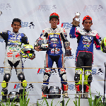 Wahyu Aji Raih Podium Jawara Race 2 Seri 5 Kejurnas
