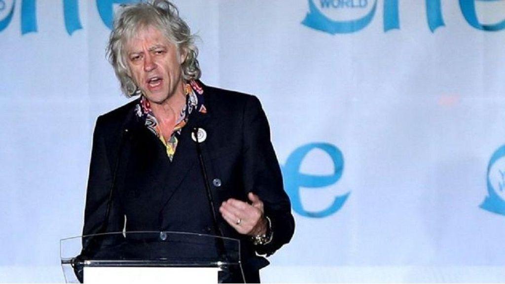 Protes Aung San Suu Kyi, Bob Geldof Kembalikan Penghargaan