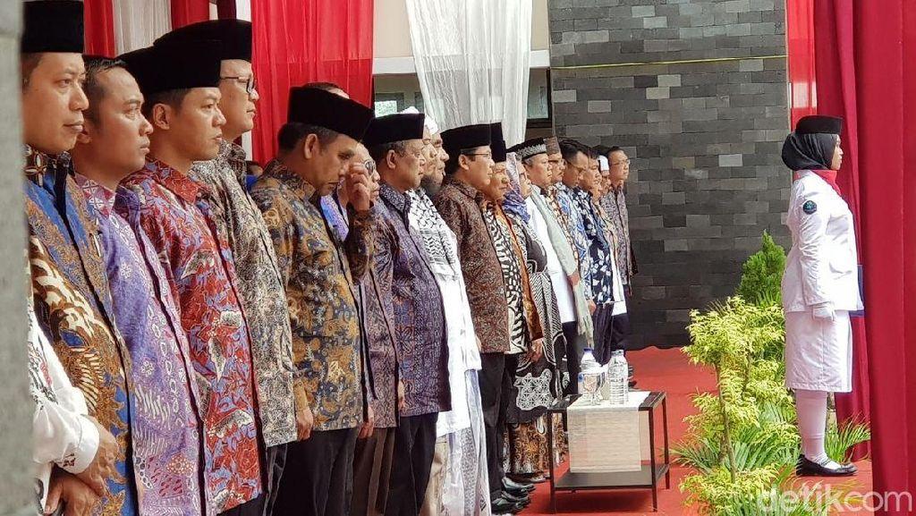Foto-foto Upacara Hari Pahlawan Prabowo-Amien Rais di Yogyakarta