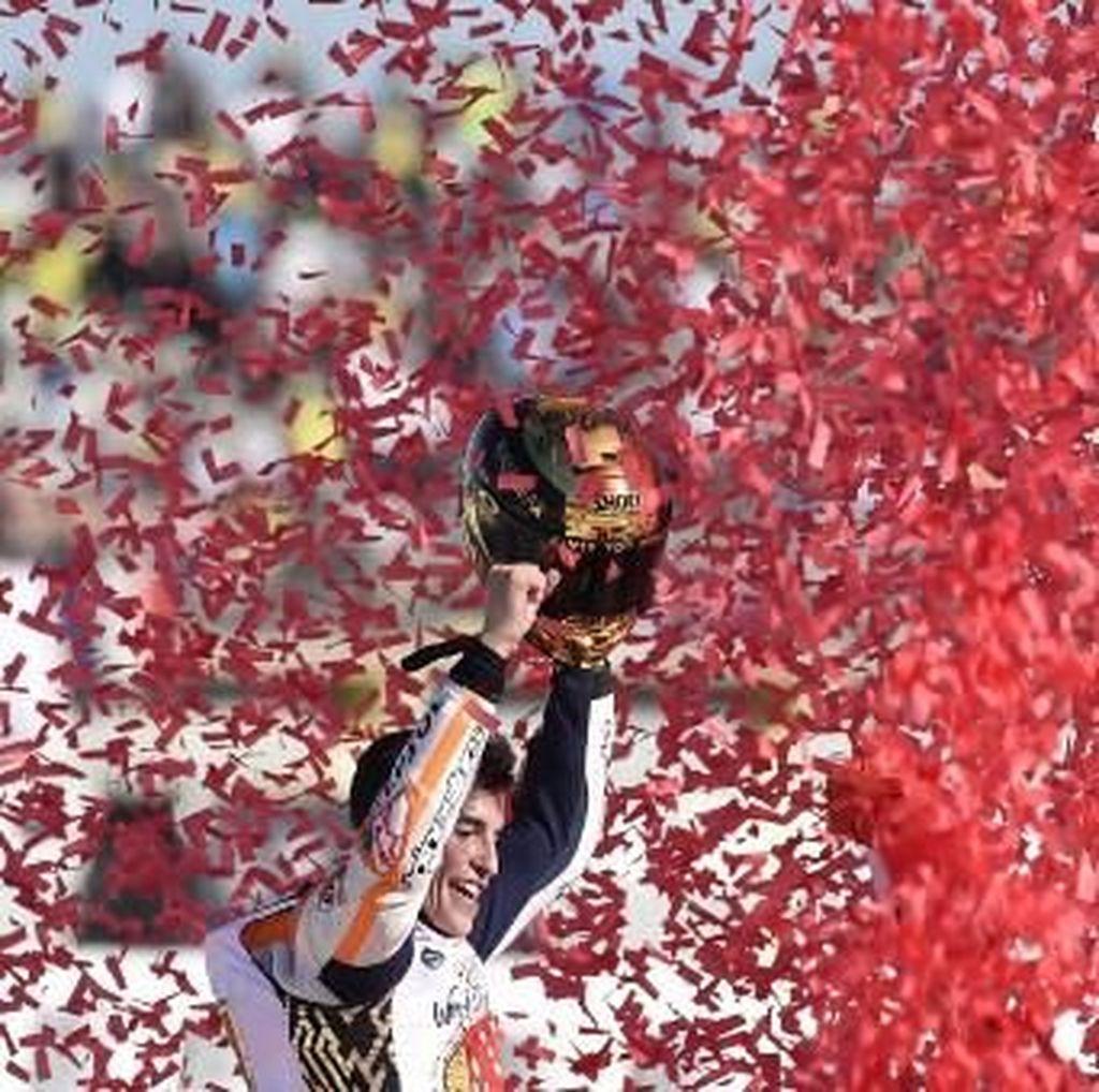 Musim yang Ketat Lebih Nikmat untuk Marquez