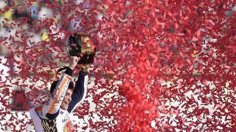 Sampai Rontok Rambut Marquez karena Musim yang Bikin Stres