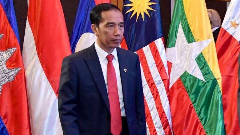 Tiba di Singapura, Jokowi Langsung Lakukan Pertemuan Bilateral