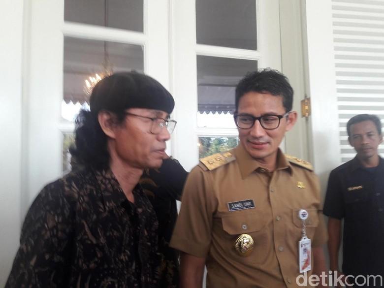 Bertemu Tokoh Bukit Duri, Sandi Dukung Forum Sosial Urban Jakarta