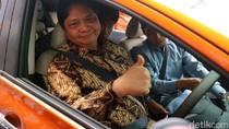 Menperin Jajal Mobil Listrik Nissan