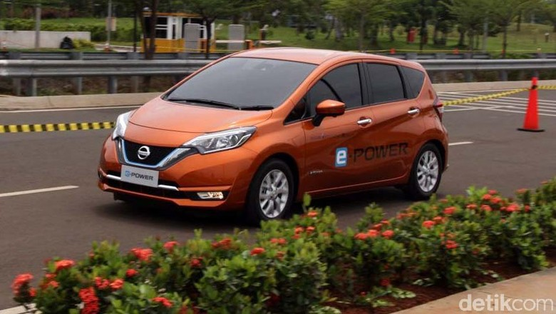 Mobil Listrik Nissan Note e-Power Kok Masih Ada Suara Mesinnya?