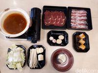 Washoku Sato: Nikmatnya Shabu-shabu Komplet dengan Isian Sesuai Selera Seharga Rp 95.000