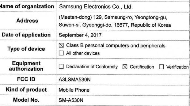 Galaxy A5 2018 Tinggal Tunggu Peluncuran
