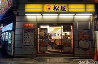Kedai Matsuya di kawasan Shinsaibashi (Wahyu/detikTravel)