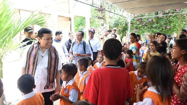 Tak Penuhi Panggilan KPK, Novanto Terbang ke Kupang