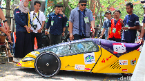 Mobil Hemat Energi Mahasiswa Untidar Jadi Pendatang Terbaik