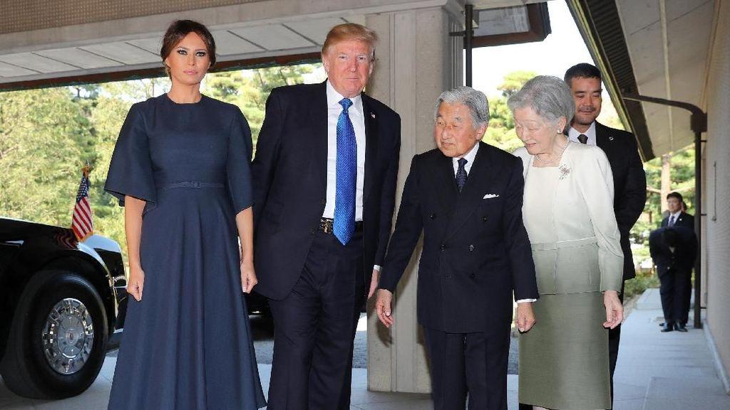 Nggak Romantis, Melania & Donald Trump Melupakan Hari Jadi Pernikahan