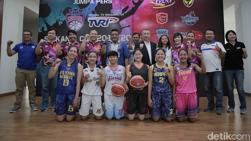 Srikandi Cup 2017/2018 Diramaikan 8 Tim Bola Basket Putri