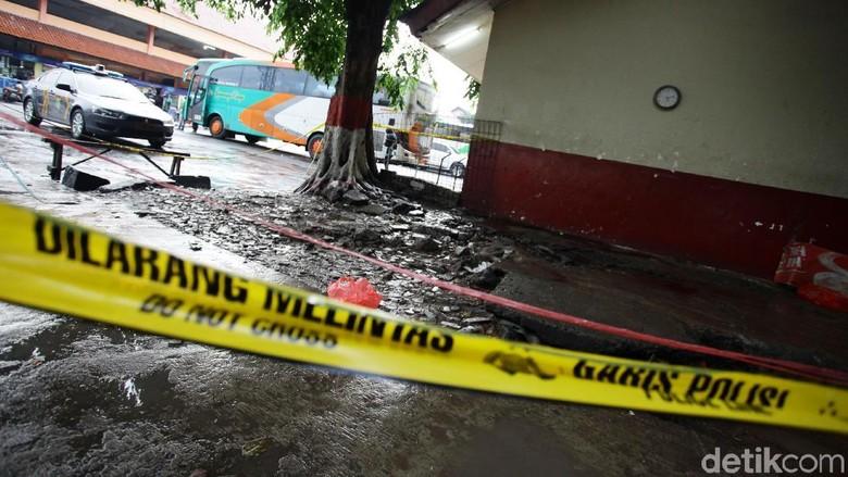 Mayat di Terminal Kampung Rambutan Diduga Korban Pembunuhan