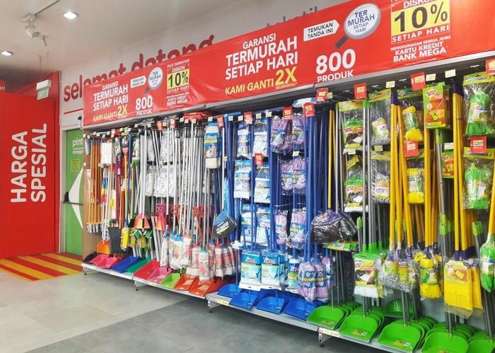 Foto: Promo Alat Kebersihan di Carrefour (Dok. Transmart Carrefour)