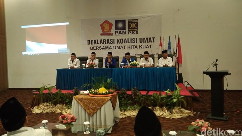 PAN-Gerindra-PKS Deklarasi Koalisi Umat untuk Pilwalkot Cirebon