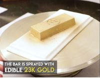 Mau Beli? Dessert Berlapis Emas di Restoran Ini Harganya Rp 20 Juta