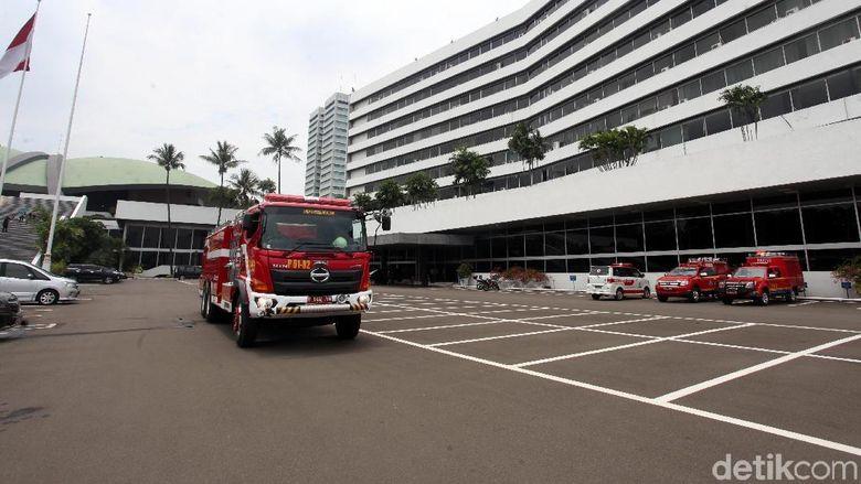 Kebakaran Kompleks Parlemen Terjadi di Gedung Pimpinan DPR