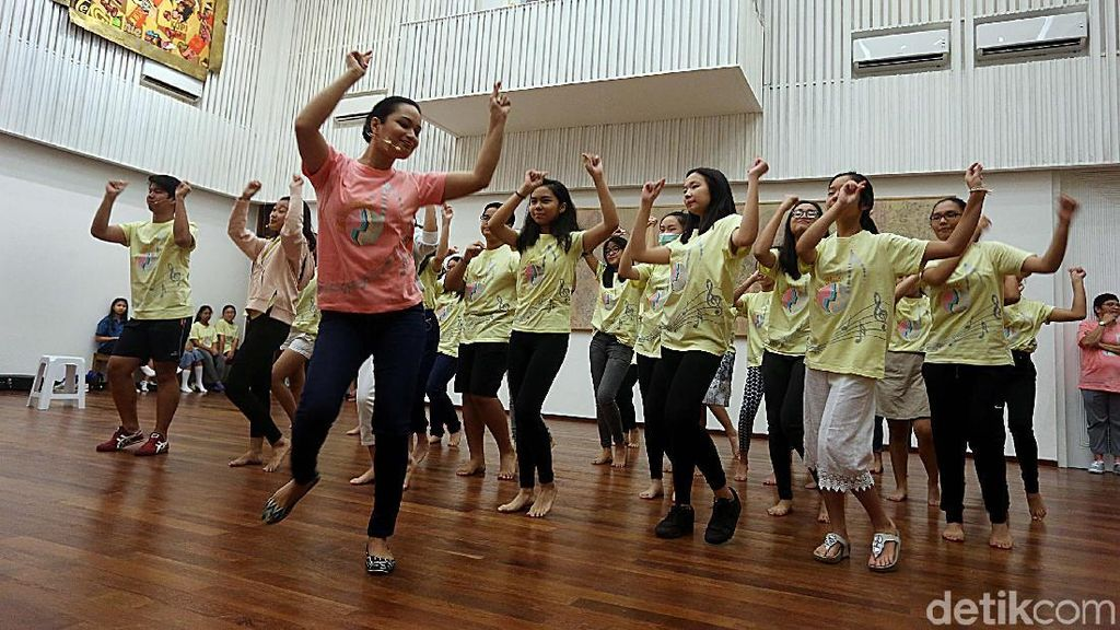 Intip Persiapan Drama Musikal Suara Hati The Resonanz Childrens Choir
