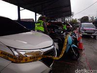 Polres Garut Sita 2 Mobil dan 49 Motor Hasil Operasi Zebra