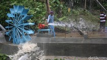 Berkat Kincir Air, Warga Banjarnegara Tak Lagi Kesulitan Air