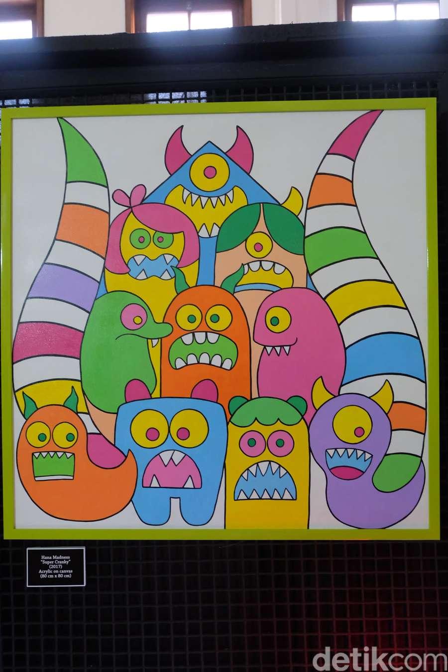 Doodle Menggemaskan ala Hana Madness