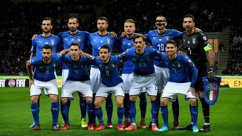 Gagal ke Piala Dunia, Italia Diklaim Rugi Hampir Rp 16 T