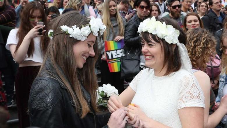 Rakyat Australia Menghendaki Legalisasi Pernikahan Sesama Jenis